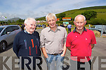 Pictured at the opening of the Annascaul Road on Friday last were l-r: Mike Sayers, Timmy Finn and James Sayers (all Annascaul).