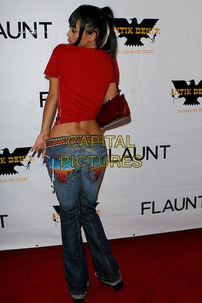 18 August 2005 - Los Angeles, CA - Bai Ling.  Flaunt Magazine Hosts Antik Denim's Store opening at Antik on Melrose..Photo credit: Jacqui Wong/AdMedia