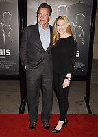 BURBANK, CA - FEBRUARY 05: Actor Arnold Schwarzenegger (L) and Heather Milligan arrive at the premiere of Warner Bros. Pictures' 'The 15:17 To Paris' at Warner Bros. Studios, SJR Theater on February 5, 2018 in Burbank, California.<br /> CAP/ROT/TM<br /> &copy;TM/ROT/Capital Pictures
