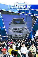 SHANGHAI, CHINA - April 25: A crowd of visitors populates Shanghai Motor Show on April 25, 2009 in Shanghai, China. Shanghai auto show opened Monday for the press and will be open April 24-28 for the public. China is the only major auto market still growing despite the global economic slowdown. U.S. and global auto makers see China as the place where they can find the sales they desperately lack in their home market. Chinese automakers see the opportunity to assess themselves as major players in the world market. (Photo by Lucas Schifres/Getty Images)