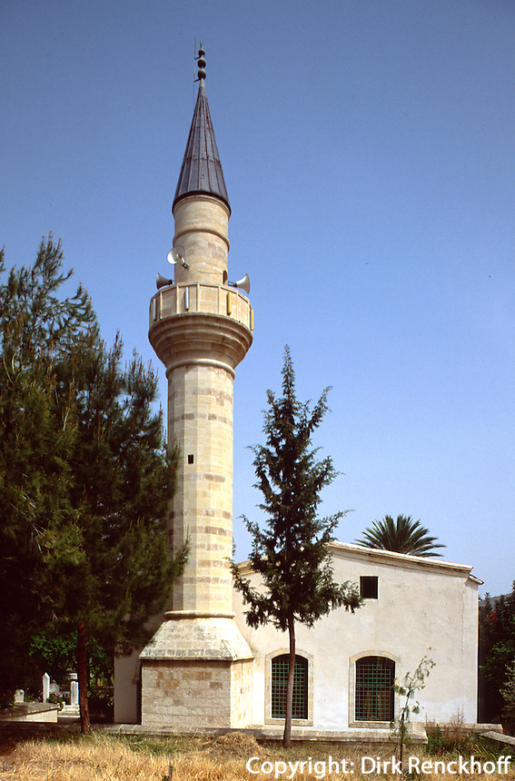 Zypern (Nord), Piri Isman Pasa Moschee in Lefke (Lefka)