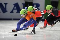 SCHAATSEN: DORDRECHT: Sportboulevard, Korean Air ISU World Cup Finale, 10-02-2012, Niels Kerstholt NED (61), ©foto: Martin de Jong