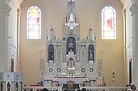 SÃO LUIZ DO PARAITINGA, SP, 07.06.2014 - IGREJA MATRIZ SÃO LUIZ DE TOLOSA -  Igreja Matriz de São Luiz de Tolosa, destruída pela enchente que assolou a cidade no início de 2010. Um dos principais símbolos religiosos e culturais de São Paulo, a igreja foi totalmente reconstruída a partir de um convênio entre a Mitra Diocesana de Taubaté e a Secretaria de Estado da Cultura, que investiu R$ 17 milhões. (Foto: Levi Bianco / Brazil Photo Press).