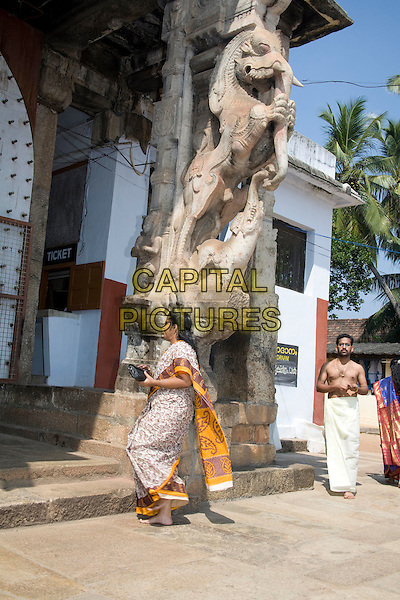 People visiting Sree Padmanabhaswamy Temple, Trivandrum, Kerala, India