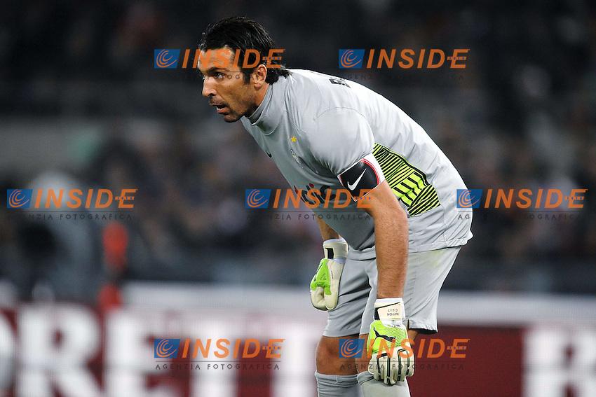 "Gianluigi BUFFON Juventus.Roma 12/12/2011 Stadio ""Olimpico"".Football Calcio 2011/2012 Serie A.Roma Vs Juventus 1-1.Foto Insidefoto Andrea Staccioli"