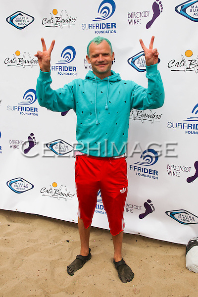 FLEA (Michael Peter Balzary). 5th Annual Surfrider Foundation Expressions Session at Surfrider Beach. Malibu, CA, USA. September 11, 2010. ©CelphImage