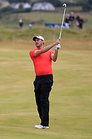 Matthew Nixon (ENG) on the 18th during Round 3 of the Dubai Duty Free Irish Open at Ballyliffin Golf Club, Donegal on Saturday 7th July 2018.<br /> Picture:  Thos Caffrey / Golffile