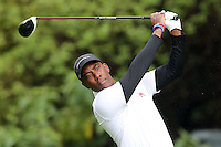 February 18, 2017:  Kevin Hall during the second round of the 2017 Genesis Open played at Riviera Country Club in Pacific Palisades, CA.