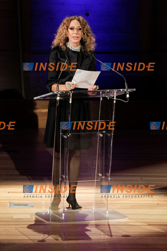 Marisa Berenson .Parigi 21/11/2012 Cercle De L'Union Interallie.nomina dell'Ambasciatore di buona volonta' dell'Unesco. .Foto Stephane Allaman / Panoramic / Insidefoto.ITALY ONLY