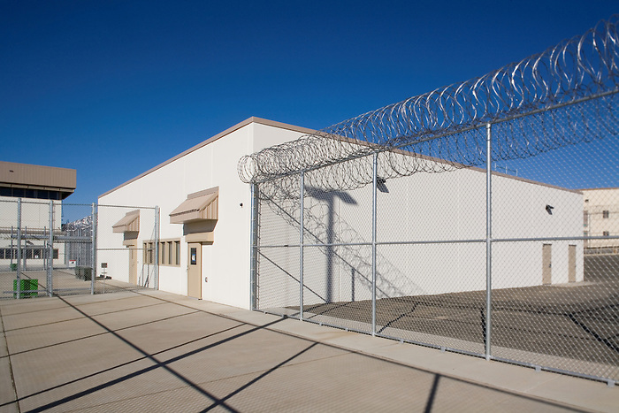 26 September 2007: Walla Walla State Prison_HDR.Bldg.B