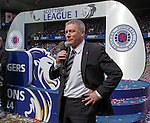 Ally McCoist addresses the Rangers fans