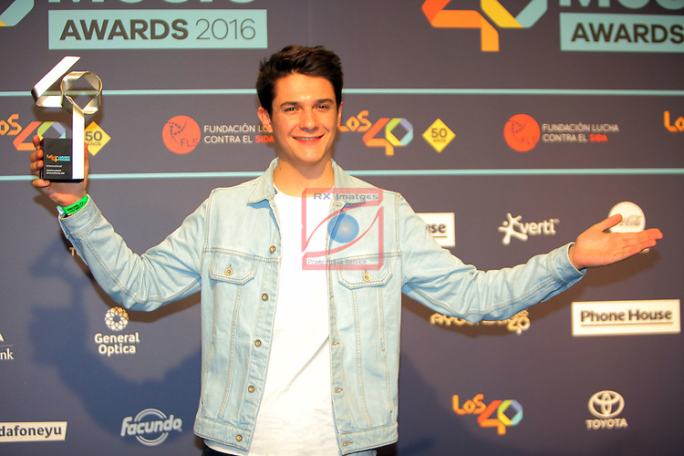Los 40 MUSIC Awards 2016 - Photocall.<br /> Kungs.