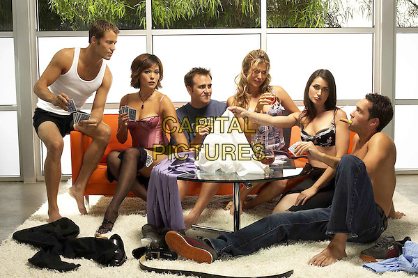 COLIN FERGUSON, LINDSAY PRICE, CHRITOPHER MOYNIHAN, SONYA WALGER, RENA SOFER & JAY HARRINGTON.in Coupling.Filmstill - Editorial Use Only.Ref: FB.sales@capitalpictures.com.www.capitalpictures.com.Supplied by Capital Pictures.