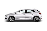 Car Driver side profile view of a 2016 Renault Megane Bose 5 Door Hatchback Side View