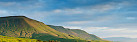 View of Twmpa - Lord Hereford's Knob and Black Mountains, Brecon Beacons national park, Wales