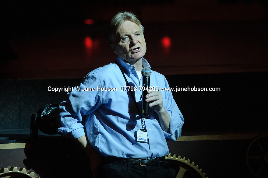 Jeff Wayne's Musical Version of the War of the Worlds opens at the Dominion Theatre. Picture shows: Bob Tomson, the director of the production.
