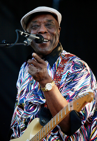 MEMPHIS, TENNESSEE - MAY 3, 2014: Buddy Guy performs at the Beale Street Music Festival at Tom Lee Park in Memphis, Tennessee, on May 3, 2014. © RTNHineline/MediaPunch.