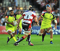 Aviva Premiership Rugby match between Gloucester Rugby vs Leicester Tigers at Kingsholm Stadium on S