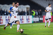 28th September 2017, Partizan Stadium, Belgrade, Serbia; UEFA Europa League group stage, Partizan versus Dynamo Kiev; Defender Bojan Ostojic of Partizan in action