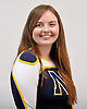 Shannon Rowe of Northport poses for a portrait during the Newsday All-Long Island cheerleading photo shoot at company headquarters on Tuesday, Mar. 15, 2016.