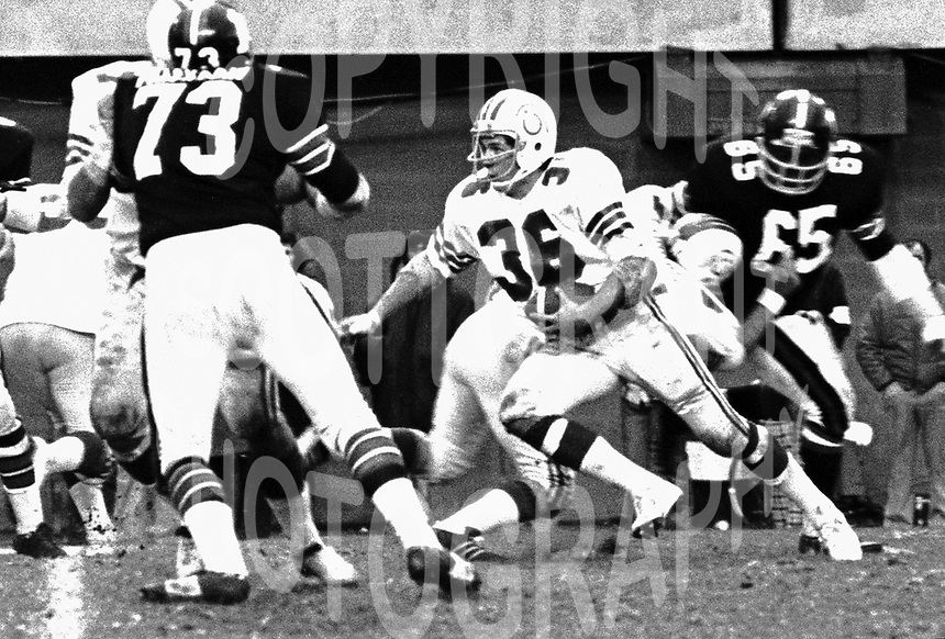 Larry Smith Montreal Alouettes 1973. Photo Ted Grant