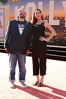 """LOS ANGELES - JUL 22:  Kevin Smith, Jennifer Smith at the """"Once Upon a Time in Hollywod"""" Premiere at the TCL Chinese Theater IMAX on July 22, 2019 in Los Angeles, CA"""
