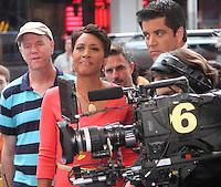 July 23,  2012 Robin Roberts host of Good Morning  America in New York City.Credit:© RW/MediaPunch Inc. /NortePhoto.com*<br />  **CREDITO*OBLIGATORIO** *No*Venta*A*Terceros*<br /> *No*Sale*So*third* ***No*Se*Permite*Hacer Archivo***No*Sale*So*third*©Imagenes*