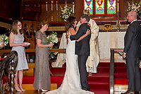 Married May 20 at Noon in St. Paul's Episcopal Church, Trish and Richard's Historic Benicia Wedding including a ride downtown in their 1930 Model A to the Union Hotel for their reception and crowning.