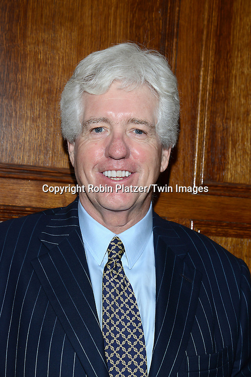 honoree Peter Smyth  attends the Library of American Broadcasting Annual Giants of Broadcasting Luncheon on October 16, 2014 at Gotham Hall in New York City. <br /> <br /> photo by Robin Platzer/Twin Images<br />  <br /> phone number 212-935-0770