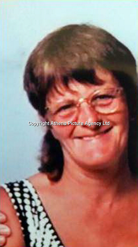 Pictured: Irene Martin, family handout.<br /> Re: Inquest into the death of Irene Martin, who died following a crash that also killed her son Mark Golubovic.<br /> Irene Martin, 63, died in hospital following the incident in Llanharry, south Wales on Saturday morning.<br /> Her son Mark Golubovic, 32, also died after the car he was driving was in the collision with a heavy goods vehicle, which was travelling in the opposite direction along Llanharry Road.