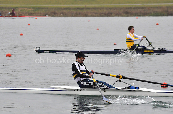 282 Ryde MasC.1x..Marlow Regatta Committee Thames Valley Trial Head. 1900m at Dorney Lake/Eton College Rowing Centre, Dorney, Buckinghamshire. Sunday 29 January 2012. Run over three divisions.