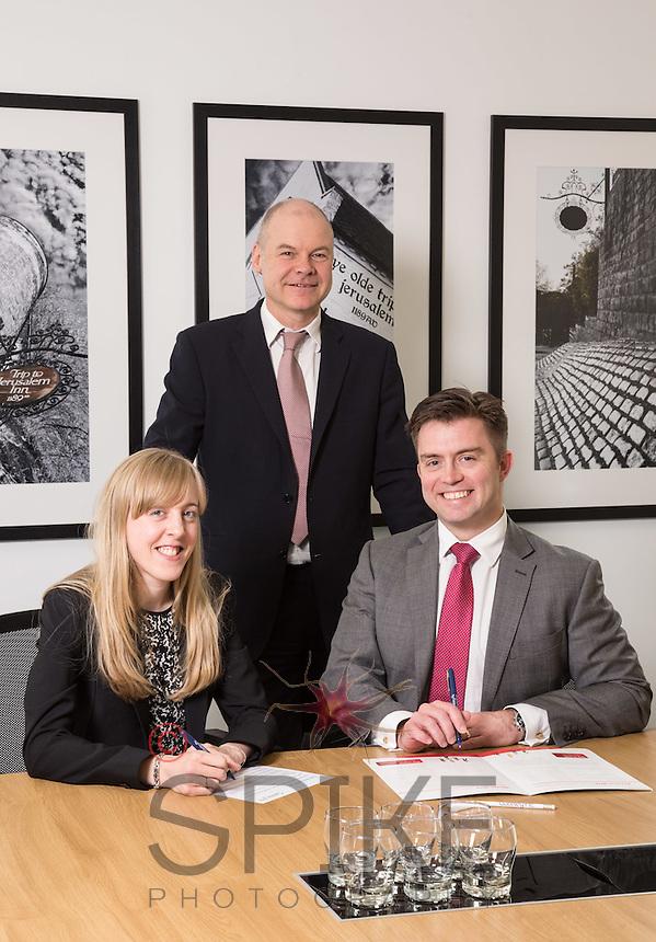 Senior Partner Andy Mattews (centre) with Charlotte Chapman and Paul Simpson from Gateley plc Nottingham Senior Partner Andy Matthews (centre) with Charlotte Chapman and Paul Simpson from Gateley plc Nottingham