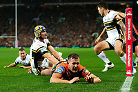 Picture by Alex Whitehead/SWpix.com - 07/10/2017 - Rugby League - Betfred Super League Grand Final - Castleford Tigers v Leeds Rhinos - Old Trafford, Manchester, England - Castleford's Greg Eden fails to score.