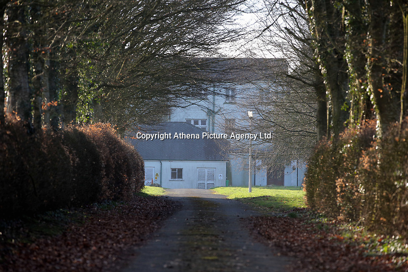 Pictured: The premises where the European Institute of Human Sciences was based in Llanybydder, Carmarthenshire, Wales, UK<br />Re: The European Institute of Human Sciences in Llanybydder which had been linked to radicalisation and one of fusilier Lee Rigby's killers, Michael Adebowale.