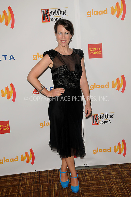 WWW.ACEPIXS.COM . . . . .  ....April 21 2012, LA....Actress Miriam Shor arriving at the 23rd Annual GLAAD Media Awards at the Westin Bonaventure Hotel on April 21, 2012 in Los Angeles, California....Please byline: PETER WEST - ACE PICTURES.... *** ***..Ace Pictures, Inc:  ..Philip Vaughan (212) 243-8787 or (646) 769 0430..e-mail: info@acepixs.com..web: http://www.acepixs.com
