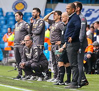 Leeds United manager Marcelo Bielsa watches on in the closing stages<br /> <br /> Photographer Alex Dodd/CameraSport<br /> <br /> The EFL Sky Bet Championship - Leeds United v Nottingham Forest - Saturday 10th August 2019 - Elland Road - Leeds<br /> <br /> World Copyright © 2019 CameraSport. All rights reserved. 43 Linden Ave. Countesthorpe. Leicester. England. LE8 5PG - Tel: +44 (0) 116 277 4147 - admin@camerasport.com - www.camerasport.com