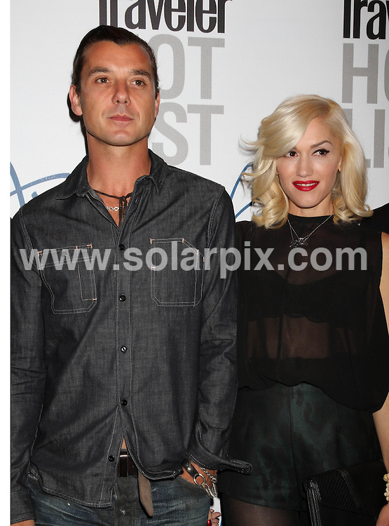 **ALL ROUND PICTURES FROM SOLARPIX.COM**.**SYNDICATION RIGHTS FOR UK, AUSTRALIA, DENMARK, PORTUGAL, S. AFRICA, SPAIN & DUBAI (U.A.E) & ASIA (EXCLUDING JAPAN) ONLY**.Conde Nast Traveler Hot List Party at Haze Nightclub in Las Vegas, 10 April 2010 .This pic: Gwen Stefani and Gavin Rossdale.JOB REF: 11064    PHZ prn   DATE: 10_04_2010.**MUST CREDIT SOLARPIX.COM OR DOUBLE FEE WILL BE CHARGED**.**MUST NOTIFY SOLARPIX OF ONLINE USAGE**.**CALL US ON: +34 952 811 768 or LOW RATE FROM UK 0844 617 7637**