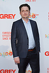Actor Toby Leonard Moore arrives at the Grey Centennial Gala at Madison Square Park in New York City on May 18, 2017.