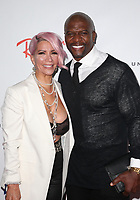LOS ANGELES, CA - FEBRUARY 10: Rebecca King-Crews and Terry Crews at the Universal Music Group Grammy After party celebrating the 61st Annual Grammy Awards at The Row in Los Angeles, California on February 10, 2019. Credit: Faye Sadou/MediaPunch