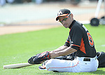 Ichiro Suzuki (Mariners),<br /> MARCH 3, 2015 - MLB : Ichiro Suzuki of the Miami Marlins is seen before a spring training practice game in Juliter, Florida, United States.<br /> (Photo by AFLO)