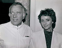 Richard Burton &amp;  Sally Hay (girlfriend) 1976<br /> Photo By John Barrett-PHOTOlink.net / MediaPunch