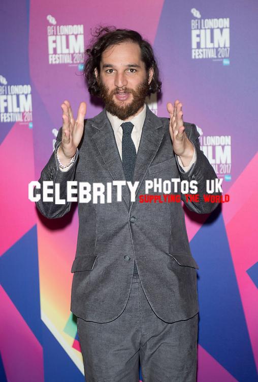 Josh Safdie at the 'Good Time' film premiere, BFI London Film Festival