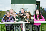 Enjoying  the Kingdom County Fair in Ballybeggan on Sunday werel-r  Caoimhe Ferris, Liz McSweeney, Sinead McSweeney, Alison O'Connor, Georgia Christy Prendeville and Niamh O'Sullivan