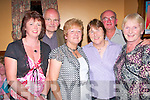 Enjoying the Dan Paddy Andy festival in Lyrecrompane on Saturday night were Marry Nolan, James Moloney, Bridget Noughton, Julie Ahern, Billy Nolan and Kathleen O'Connor...   Copyright Kerry's Eye 2008