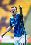 Motherwell v St Johnstone&hellip;20.10.18&hellip;   Fir Park    SPFL<br />Liam Craig shouts instructions<br />Picture by Graeme Hart. <br />Copyright Perthshire Picture Agency<br />Tel: 01738 623350  Mobile: 07990 594431