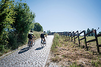 the infamous Paterberg climb<br /> <br /> cycling hotspots & impressions in the Vlaamse Ardennen (Flemish Ardennes) <br /> <br /> Cycling In Flanders <br /> Flanders Tourist Board<br /> <br /> ©kramon