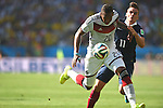 Jerome Boateng (GER), Antoine Griezmann (FRA), JULY 4, 2014 - Football / Soccer : FIFA World Cup Brazil 2014 quarter-finals match between France 0-1 Germany at Estadio do Maracana in Rio de Janeiro, Brazil. (Photo by FAR EAST PRESS/AFLO)