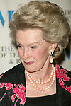Dina Merrill attending  The Museum of Television &amp; Radio'sAnnual Gala Honoring Merv Griffin for his Award-Winning Television and Radio Career as well as his Contributions as a Business Leaderin the Entertainment Industry. The evening was held at the Waldorf Astoria Hotel in New York City. <br />