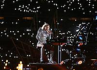 Lady Gaga performs at Super Bowl LI, during half time at the NRG Stadium, Houston, Texas, USA