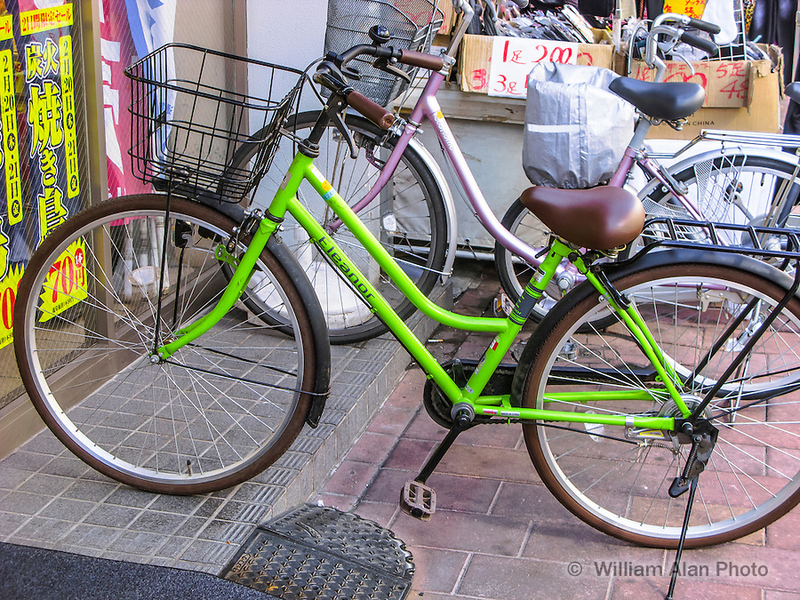 Eleanor Bike in Ota, Japan 2014.